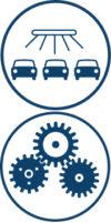 Differenzierte Getriebe- und Maschinenüberwachung z.B. bei