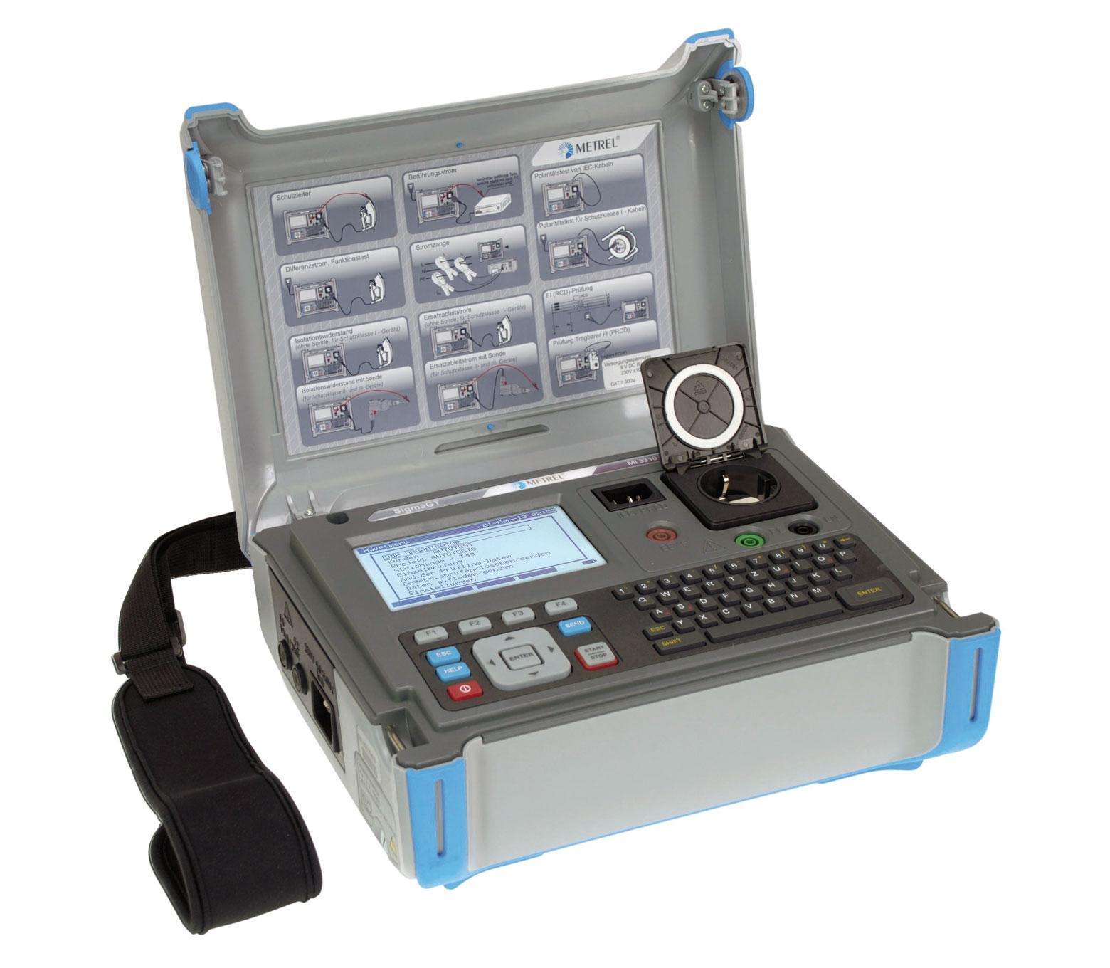 mi 3310 sigmagt VDE 0701 0702 Prüfgerät METREL WINGOLD MESSTECHNIK
