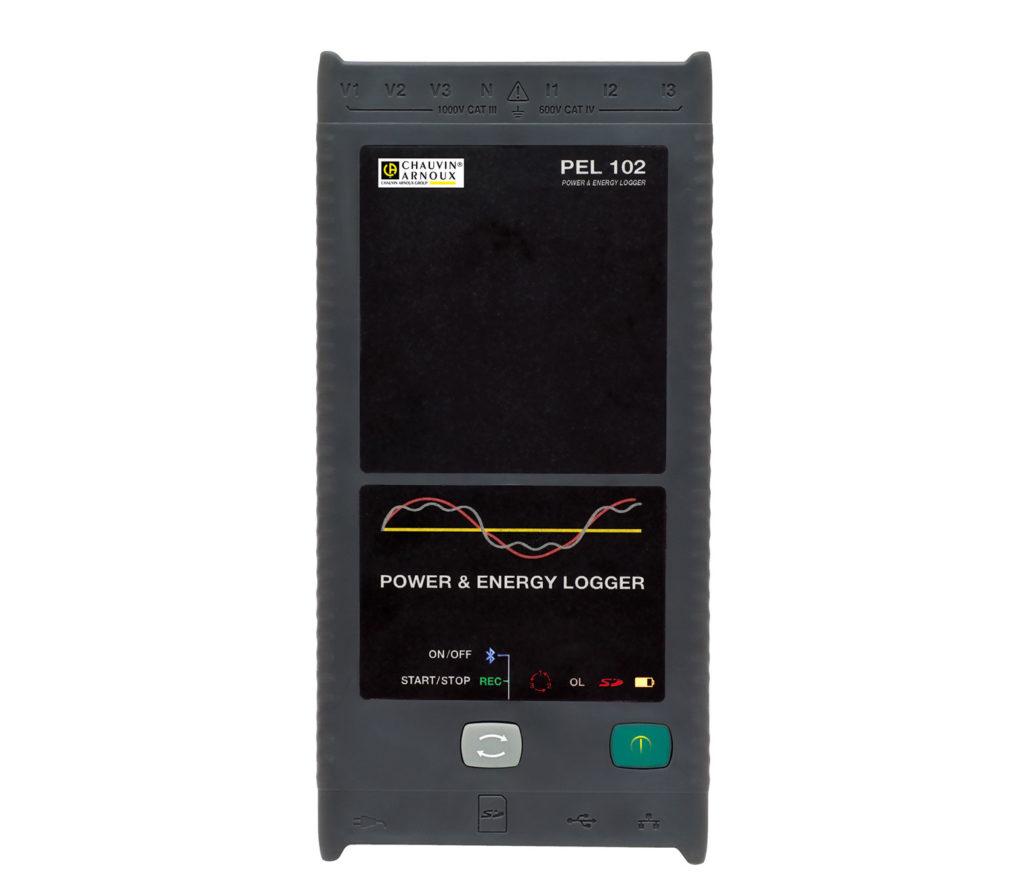 PEL102 Leistungs- und Energie-Recorder