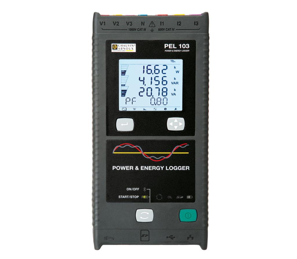 PEL103 Leistungs- und Energie-Recorder