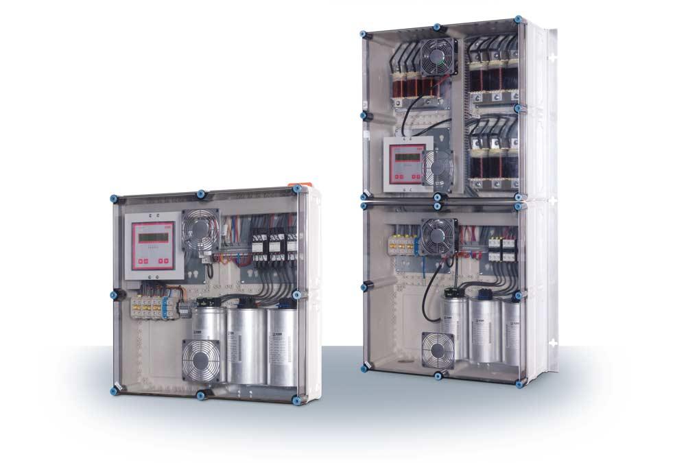 Kompensationsanlage multicab-R im ISO-Wandgehäuse, K0520-D4540