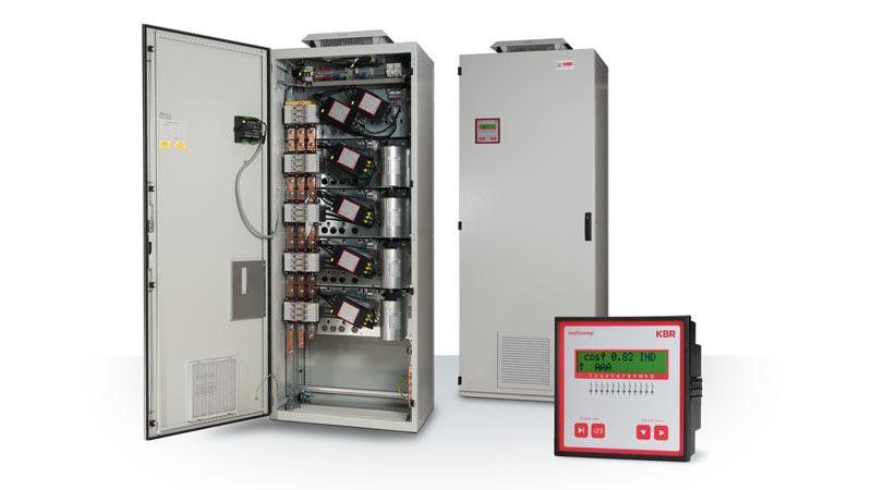 Kompensationsanlage multicab-R mit Thyristorschalter, K0520-D5020