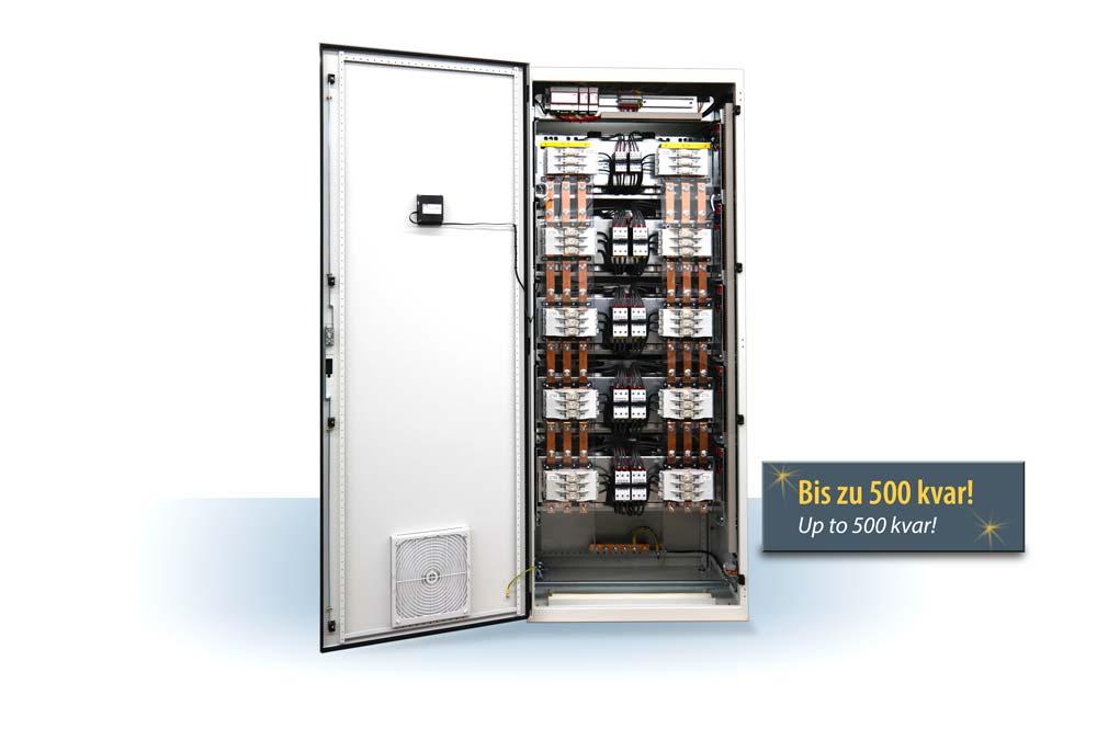 Kompensationsanlage multicab-R-SSE... bis zu 500 kvar, K0520-D5030